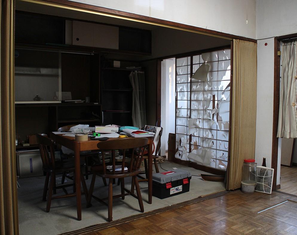 団地リノベ 3DK→2LDK・空室対策前