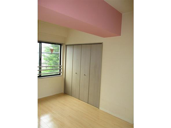 ピンクカラーがテーマのお部屋。・空室対策前