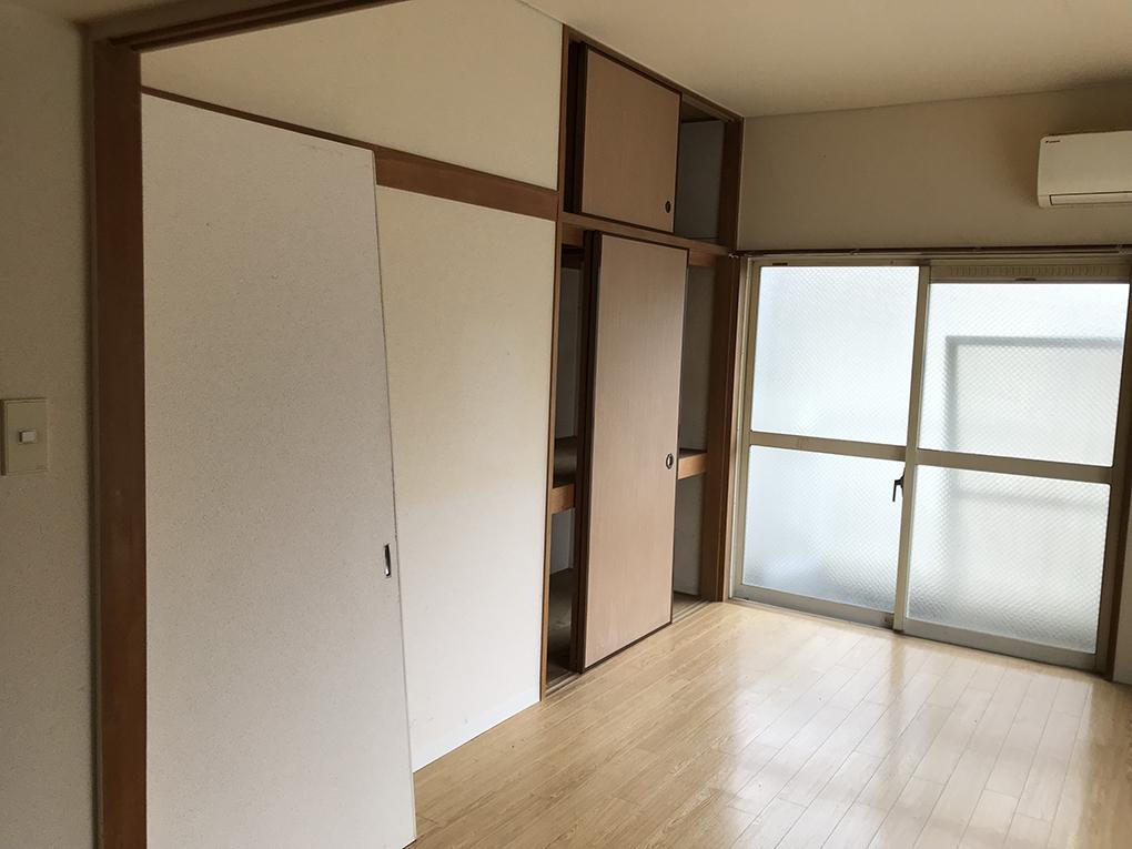 工事中に入居決定‼ローコストリノベーション・空室対策前