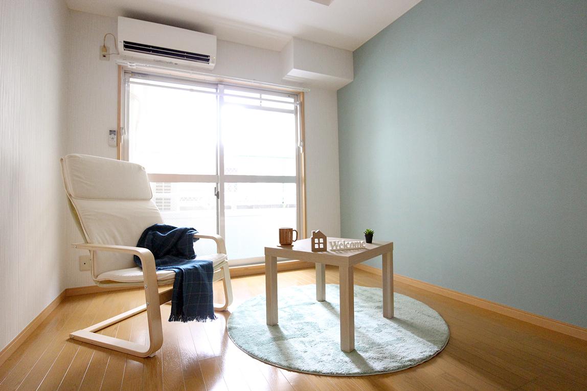 家具設置後、2週間で入居決定!ホームステージング・空室対策後